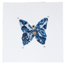 Embroidered Card - Butterfly (pack of 6 cards)