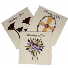 Sympathy Cards - Thinking of You (assorted pack of 6 cards)