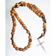Olive Wood Rosary - Plain (pack of 6)