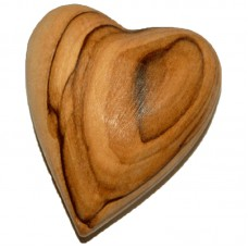 Olive Wood Heart (pack of 12)